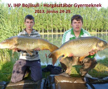 V. IHP Bojlisuli – Horgásztábor Gyermekeknek – Beharangozó