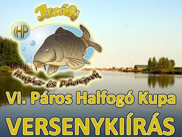VI. Izsáki Horgász- és Pihenőpark Páros Halfogó Kupa